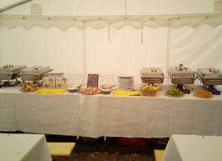 namiotu cateringowego